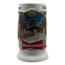 2020 Limited Edition Budweiser Clydesdale Holiday Beer Stein Collectible Series