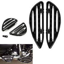 Passenger Driver Floor Foot Boards Pedals For Harley Softail Touring 86-15 US