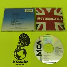 The Who Greatest Hits - CD Compact Disc