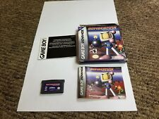 Bomberman Tournament (Nintendo Game Boy Advance, 2001) complete gba