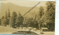 CALIFORNIA,MYER'S AUTO CAMP VIOLET RAY GASOLINE STATION REAL PHOTO (CA-M)