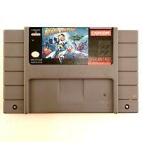 Super Nintendo SNES Mega Man X Game