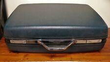 "Vtg 1994 Blue Samsonite Suitcase Hard Shell Case 2800 Series II No Key 25"" x 20"""