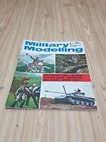 Vintage October 1972 Military Modelling Hobby Magazine FREE POST