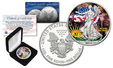 2016 1 oz .999 Fine Silver American Eagle Coin *30th COLORIZED* Ltd of 300 w/BOX