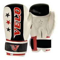 VELO Junior Boxing Gloves Kids 6oz Punch Bag Mitts Children Kickboxing Glove