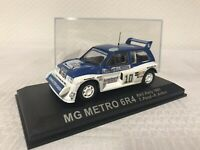 MG Metro 6R4 RAC 1:43 Rallye Geschenk Modellauto Modelcar Scale Model Spielzeug