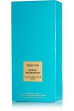 TOM FORD Neroli Portofino Perfume WARMING BODY SCRUB Men Women 5oz 150ml NIB