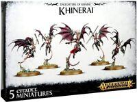Warhammer AoS Daughters of Khaine Khinerai Lifetakers / Heartrenders (5) NoS