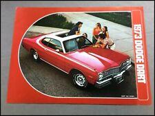 1973 Dodge Dart 340 Swinger Original Vintage Car Sales Brochure Catalog