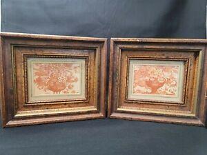 Solid Wood Antiqued H. Hal Kramer Framed Prints