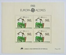 Timbre Stamp Açores Portugal 1988 YT Bloc 9 EUROPA CEPT Neuf