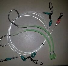 REUSE SUPER ULTIMATE II 250LB RIGS 2 FULL LUMO SWAPPABLE 12/0 TUNA CIRCLE HOOKS