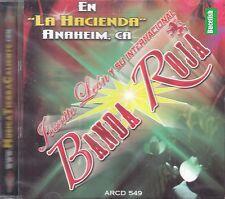 Banda Roja En La Hacienda En Vivo CD New Sealed