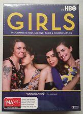 GIRLS Complete Seasons 1 2 3 4 Box Set 8-DISC DVD R4 PAL oz HBO Lena Dunham