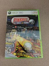 PINBALL HALL OF FAME THE WILLIAMS COLLECTION MICROSOFT XBOX 360 NEW SEALED!