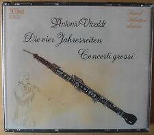 Vivaldi - die vier Jahreszeiten - Concerti Grossi - 2 CDs neu & OVP