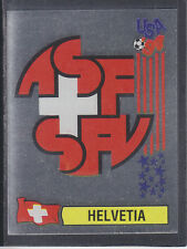 Panini - USA 94 World Cup - # 39 Helvetia Foil Badge (Black Back)