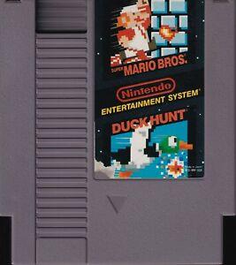 SUPER MARIO BROS. & DUCK HUNT (1988) nes nintendo us NTSC USA IMPORT