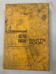 Caterpillar D379B engine parts manual. Genuine Cat book.