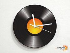 Vinyl Record - Music Old School - DJing - Wall Clock