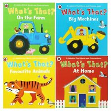 Ladybird Whats That Collection 4 Books Set Favourite Animals At Home Pack NEW