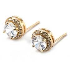 Gorgeous 925 Silver Stud Earrings Women Cubic Zircon Jewelry A Pair/set