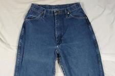 Wrangler 12MWZG Womens Faded Denim Jeans Tag 11/12x34 Measure 28x33 Cowboy