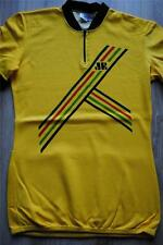 Cycling World Champion Rainbow Stripes Yellow Jersey Size-Taille 6 Mint Conditio