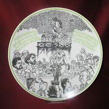 Rosenthal Satire Teller, Sammelteller - Chorkonzert Selb 1981