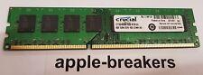 Crucial CT102464BA160B.M16FDD 8GB PC3-12800 DDR3 SDRAM 1600 MHz UDIMM MEMORY RAM