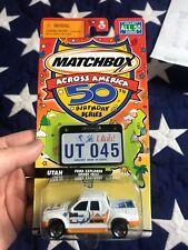 Matchbox 50th Birthday State Series Utah, State Ford Explorer Sport Trac