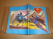 COPRI QUADERNO PLASTIFICATO SUPERMAN DC COMICS 1979 (MARVEL - BATMAN - FLASH)