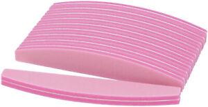 Buffer Nagelfeile Trapez Pink 10er Set Schwammfeile Buffer Nagel Feile Nail