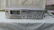 New ListingVintage Technics Rs-M205 Cassette Tape Deck Player Recorder / Tested - Works