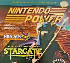 Nintendo Power Magazine 71 Stargate COMPLETE with Poster