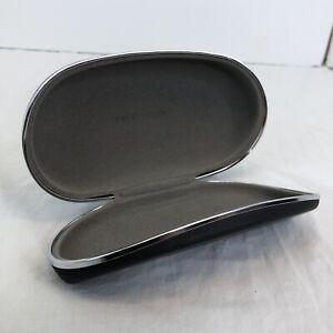 Giorgio Armani Sunglass EyeGlass Dark Gray Case Hard Protective Clamshell