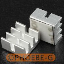 20 pcs 6.5x6.5x3.5mm Heatsinks for Avalon Antminer ASIC Bitcoin Miner IC Chip
