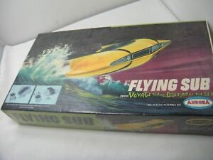 """AURORA Voyage to the Bottom of the Sea """"Flying Sub"""" Factory Sealed Model Kit"""