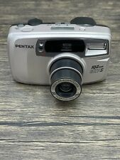 Pentax IQZoom EZY-S 35mm Point & Shoot 38-70mm Lens Film Camera Tested Working