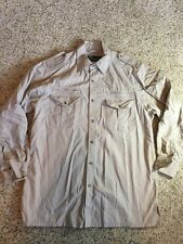 WALKABOUT ALL TERRAIN  Mens Shirt- Size Large TAN/BEIGE kd1