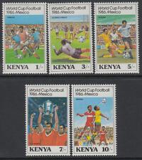XG-T311 KENYA - Football, 1986 Mexico '86 World Cup MNH Set