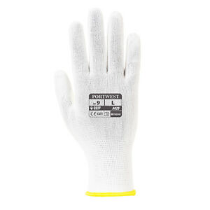 Portwest A020 Assembly 13 Gauge Liner High Dexterity Gloves White - Box of 960