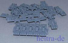 LEGO Technik - 20 Kettenglieder groß, ca. 38mm breit dunkelgrau / 57518 NEUWARE