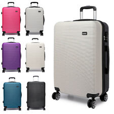 20 inch Luggage Trolley Lightweight Travel Durable Hard Shell 4 Wheel Suitcase
