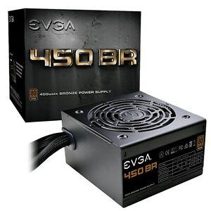 EVGA 450 Watt Bronze Power Supply 80 Plus Bronze 450 BR 100-BR-0450-K1 (new)