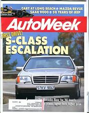 AutoWeek Magazine April 22 1991 S-Class Mercedes-Benz EX w/ML 022317nonjhe