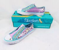 Skechers Girls Sneakers Shuffle Acey Deucy Size 5 Sparkles New In Box