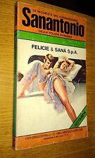 LE INCHIESTE DEL COMMISSARIO SANANTONIO # 122 -FELICIE & SANà SPA-1980-SR41