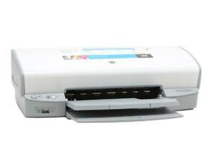 HP Deskjet D4160 Digital Photo Inkjet Printer  -Works great, needs ink